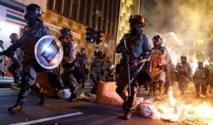 Hong Kong: policía reprime violentamente a manifestantes