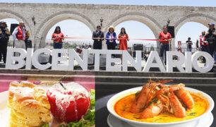 Así se realizó la Feria Gastronómica Bicentenario en Arequipa