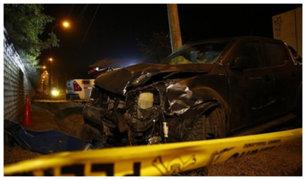 Cieneguilla: un muerto y tres heridos tras choque de camioneta contra mototaxi