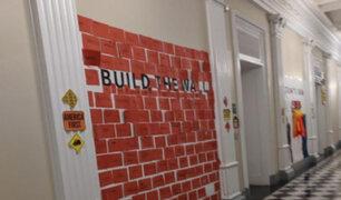 EEUU: piden a niños que 'construyan un muro' durante fiesta en la Casa Blanca