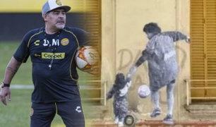 """Gianinna Maradona alerta sobre estado de salud de su papá: """"Recen por él"""""""