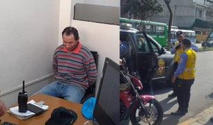 """Detienen a """"Pericotillo"""": ladrón atacaba a transeúntes en estado de ebriedad"""