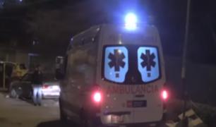 VMT: mototaxi arrolla a familia y deja un muerto