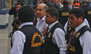 Edwin Donayre: excongresista fue trasladado a carceleta del Ministerio Público