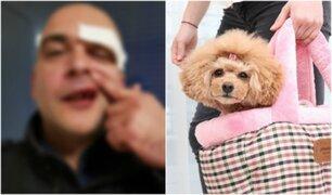 Hombre es brutalmente golpeado por llevar bolsa de color rosa