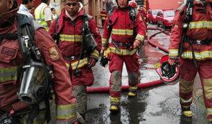 Bomberos atienden emergencias en plena cuarentena