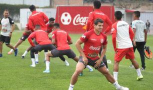 Selección Peruana inició entrenamientos previo a sus amistosos contra Colombia y Chile