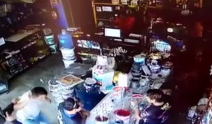 Pucallpa: cámara de seguridad captó asalto en ferretería