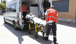 Auto embiste a anciano de 78 años en Chiclayo