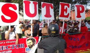 Sutep: profesores acatarán paro nacional el jueves 21 de noviembre