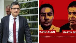 "Domingo Pérez: ""Germán Juárez no participa en audios"""