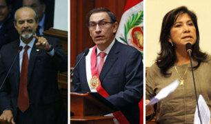 Martha Chávez y Mulder aseguran que si son elegidos darán batalla a Martín Vizcarra