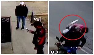 Chorrillos: persiguen con cuchillo a delincuente y lo capturan tras robar restaurante