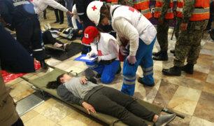 Simulacro nocturno de sismo y tsunami se realiza hoy a nivel nacional