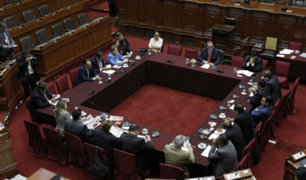Decretos de urgencia serán revisados este miércoles por Comisión Permanente
