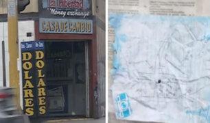 La Victoria: PNP halló croquis de casa de cambio tras capturar a banda criminal