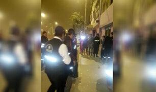VES: detonan artefacto explosivo en la puerta de vivienda