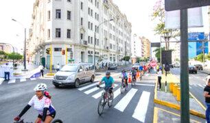 Corredor Tacna-Garcilaso: activan carril exclusivo para ciclistas