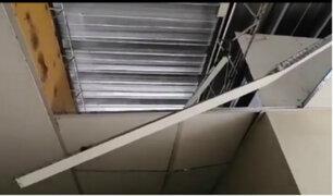 Chiclayo: administrador de hospital Belén culpó a gatos por caída de techo