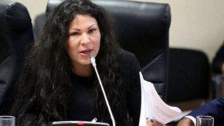 Yesenia Ponce: PJ evalúa impedimento de salida del país contra excongresista