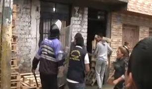 El Agustino: desalojan a ambulantes que habían invadido las calles