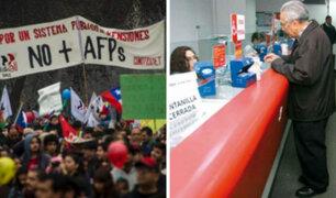 Ante protestas en Chile, presidente del BCR sugiere cambios en sistema de pensiones