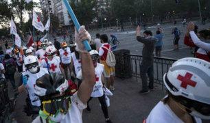 """Chile: médicos alertan de """"emergencia"""" por heridos oculares durante protestas"""