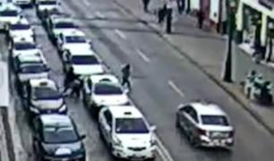 Huancayo: taxista atropelló a niña y se dio a la fuga
