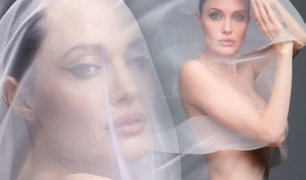 Angelina Jolie posa desnuda por primera vez