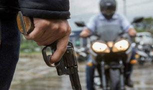 La Libertad: asesinan de varios disparos a joven motociclista