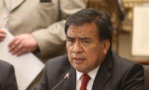 Fiscalía de la Nación resolvió haber mérito para denunciar constitucionalmente a Quesquén