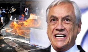 Piñera: Gobiernos extranjeros estarían tras disturbios en Chile
