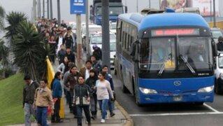 ¿En qué condiciones operan los buses de los corredores complementarios?