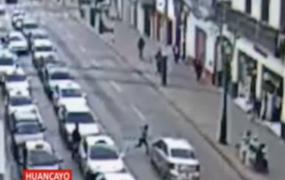 Huancayo: menor atropellada por taxista acabó policontusa y con traumatismo