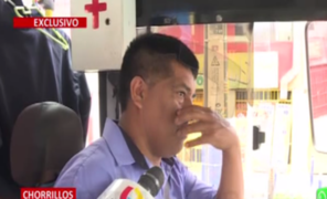 """Chofer de bus asaltado: """"me pusieron pistola en la cabeza y me golpearon"""""""