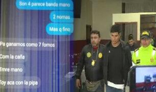 La Victoria: detienen banda de raqueteros que coordinaba robos por grupo de WhatsApp