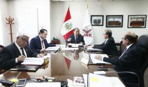 Elecciones 2020: JNE debatirá el lunes 11 si excongresistas pueden postular