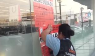 Surco: intervienen conocido supermercado en Chacarilla por seguridad