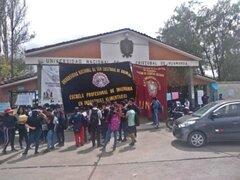 Ayacucho: estudiantes de cuatro escuelas toman campus de la UNSCH