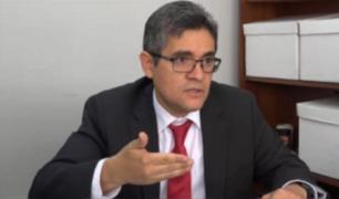 ODECMA sancionó a José Domingo Pérez por declaraciones de corte político