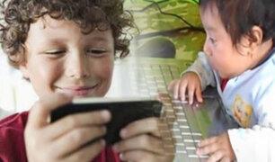 EEUU: alerta por exceso de exposición de niños a dispositivos electrónicos