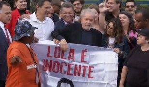 Brasil: Lula Da Silva recuperó su libertad tras permanecer 580 días en prisión