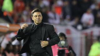 Copa Libertadores: DT de River se refirió a la 'maldición' por entrenar en Matute