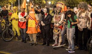 Miraflores: cientos de ciclistas disfrazados recorrieron el Kennedy