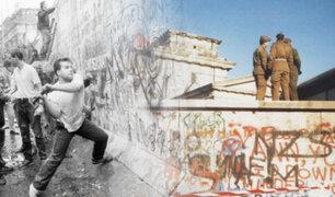 Alemania: se cumplen 30 años de la caída del Muro de Berlín