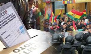 Bolivia: elecciones son declaradas viciadas de nulidad