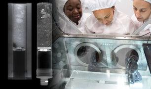 NASA abre contenedor con muestras de roca lunar que llevaba sellado desde 1972