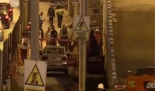 Miraflores: joven obrero muere en obras de ampliación de la Vía Expresa