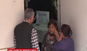 SJM: familiares de joven asesinado en balacera negaron que este sea pandillero