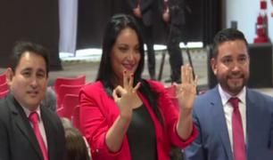 """Mariella Zanetti acudió a firmar el """"Pacto ético electoral"""": """"No voy a dejar mal al país"""""""